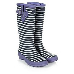 Dash - Stripe Print Welly
