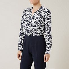 Eastex - Mini Henley Print Blouse