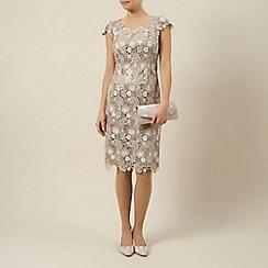 Jacques Vert - 3 colour lace dress