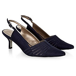 Jacques Vert - Mesh strip sling back shoe
