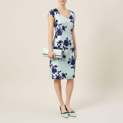 Jacques Vert Petite Floral Print Dress