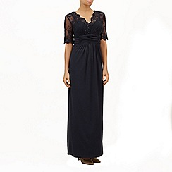 Jacques Vert - Lace top evening dress