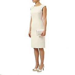 Jacques Vert - Textured Pearl Trim Dress