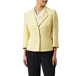 Precis Petite - Lemon wool jacket
