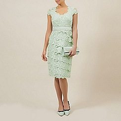 Jacques Vert - Sweetheart lace layered dress