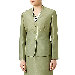 Eastex - Shantung collarless jacket
