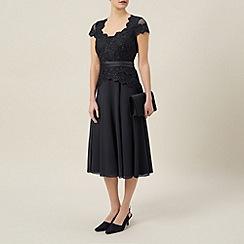 Jacques Vert - Petite chiffon and lace dress