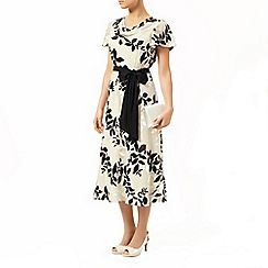 Jacques Vert - Shadow floral devore dress