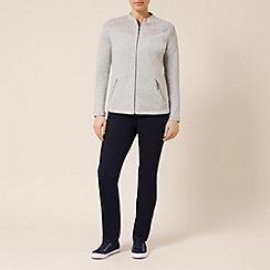 Dash - Neck detail jersey jacket