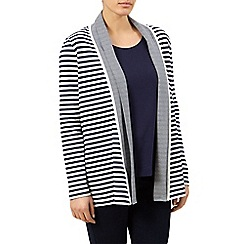 Dash - Striped Jersey Cardigan
