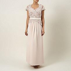 Jacques Vert - Lace & chiffon maxi dress