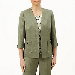Eastex - Basket weave edge to edge jacket