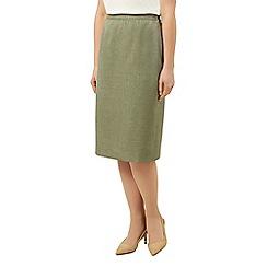 Eastex - Basket weave pencil skirt