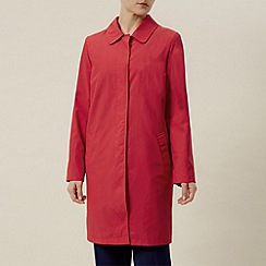Windsmoor - Tomato pleat back mac