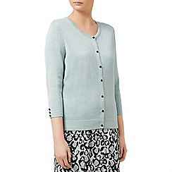 Planet - Mint button through cardigan