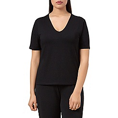 Windsmoor - Black jersey basic top