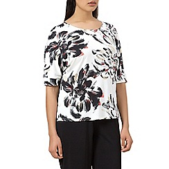 Windsmoor - Large floral jersey top