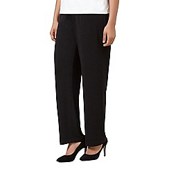 Windsmoor - Black jersey wide leg trouser