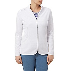 Dash - Interlock jacket curved seam