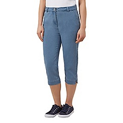 Dash - Crop light wash denim