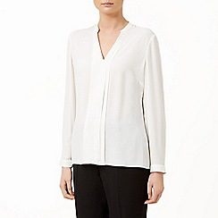 Planet - Ivory long sleeve blouse