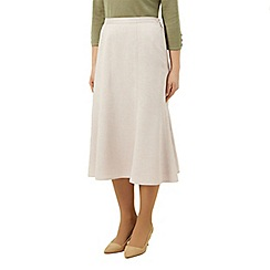 Eastex - Fit and flare skirt stone