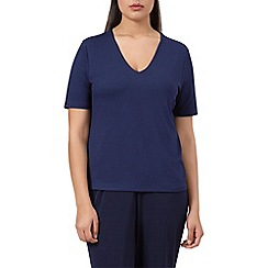 Windsmoor - Navy jersey basic top