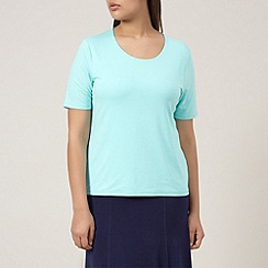 Windsmoor - Aqua jersey basic top