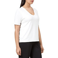 Windsmoor - Ivory jersey basic top