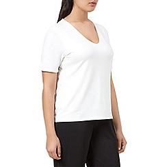 Windsmoor - Ivory jersey basic top