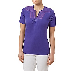 Dash - Notch neck top