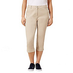 Dash - Tan crop trouser