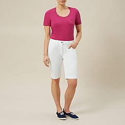 Dash - White city short