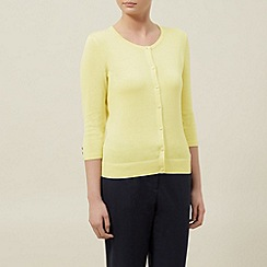 Planet - Lemon button through cardigan