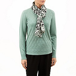 Eastex - Layered Clover Print Scarf
