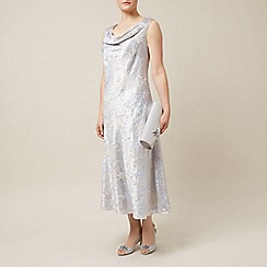 Jacques Vert - Crystal devore dress
