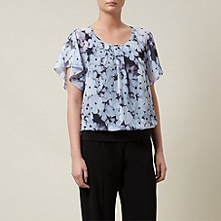 Kaliko - Forget Me Not Print Bubble Hem