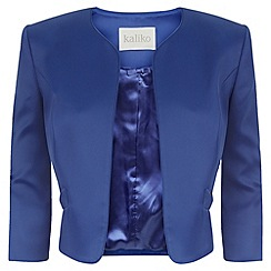 Kaliko - Bow Pocket Satin Jacket