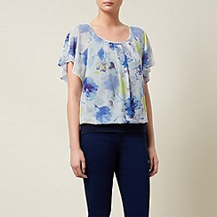 Kaliko - Colour Pop Floral Bubble Hem
