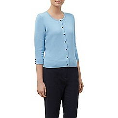 Planet - Sky blue button through cardi