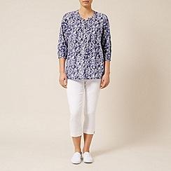 Dash - 3/4 slv gaudi print blouse