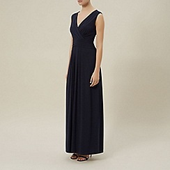 Planet - Navy sleeveless maxi dress