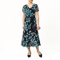 Jacques Vert - Butterfly floral prom dress