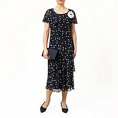 Jacques Vert - Printed soft hanky hem dress