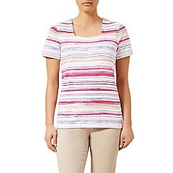 Dash - Stripe Square Neck Tee