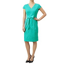 Precis Petite - Jacquard bow dress