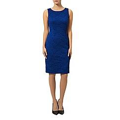 Precis Petite - Bright blue lace dress