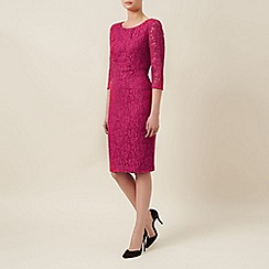 Planet - Cerise lace dress