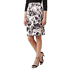 Kaliko - Floral printed pencil skirt
