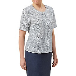 Eastex - Spot print blouse